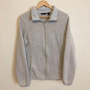 SwissTech | Oatmeal Zip Up Jacket